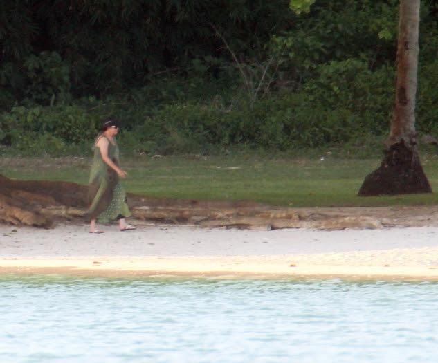 Dilma na praia