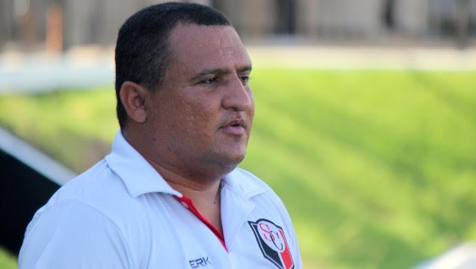 Higor César técnico Santa Cruz de Natal (Foto: Divulgação)