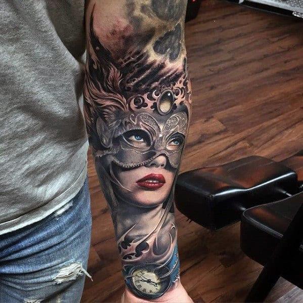 Tatuagem Meia Luva Ideias Para Homens