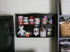 Drawer to Shelf in Use