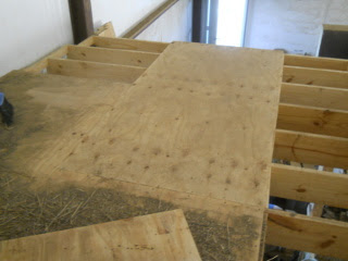 Another Piece of Flooring on Back Section