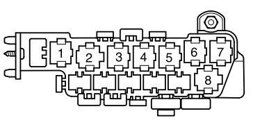 Volkswagen Passat B5 Fl 2000 2005 Fuse Box Diagram Auto Genius