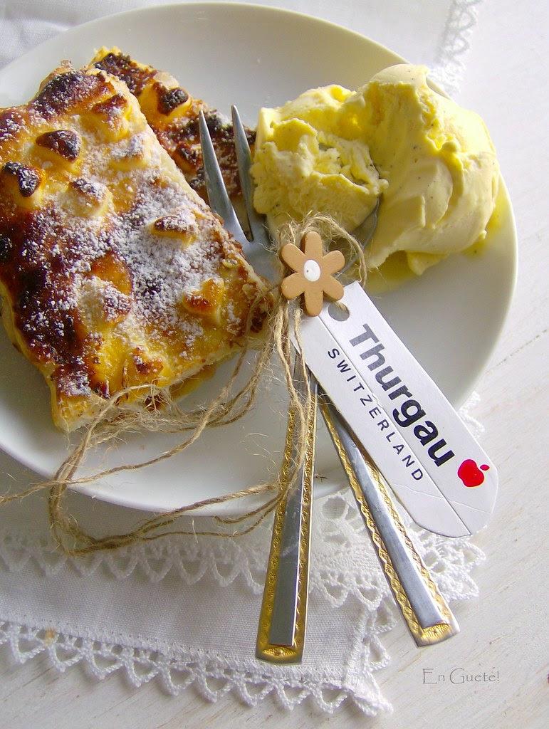 Milopita, con manzanas del Thurgau