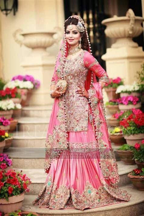 Latest Wedding Bridal Sharara Designs & Trends 2018 2019