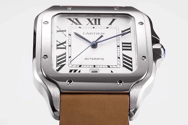 Cartier Santos 100 Bezel Screws