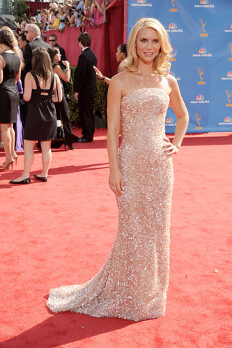 Claire Danes at the at the 62nd Primetime Emmy Awards