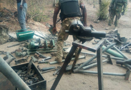 5 Boko Haram terrorists neutralized and several others wounded by Nigerian Army