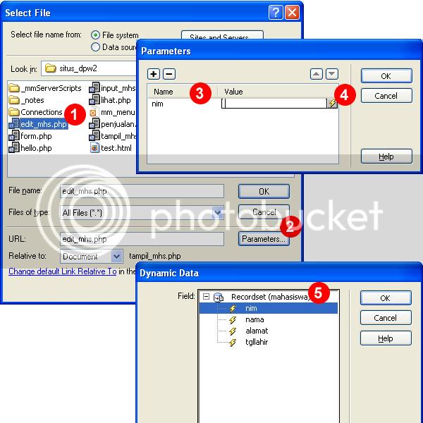 Setting Parameter URL