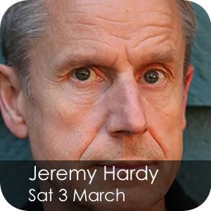 Jeremy Hardy - Sat 3 March