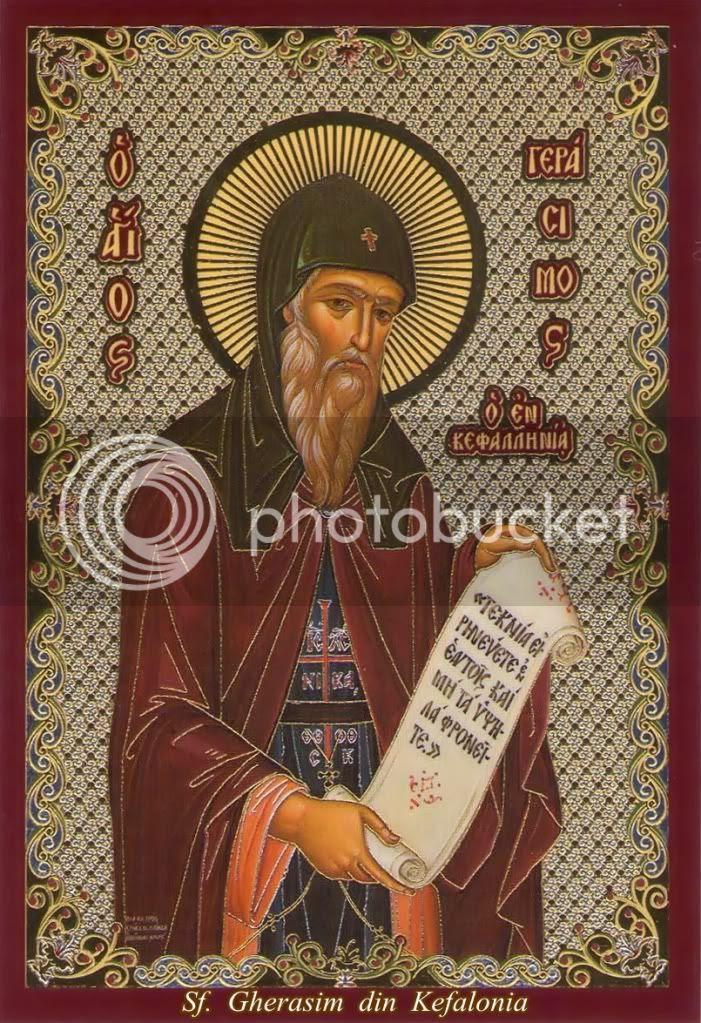 Sfântul Gherasim din Kefalonia, marele făcător de minuni - 16 august