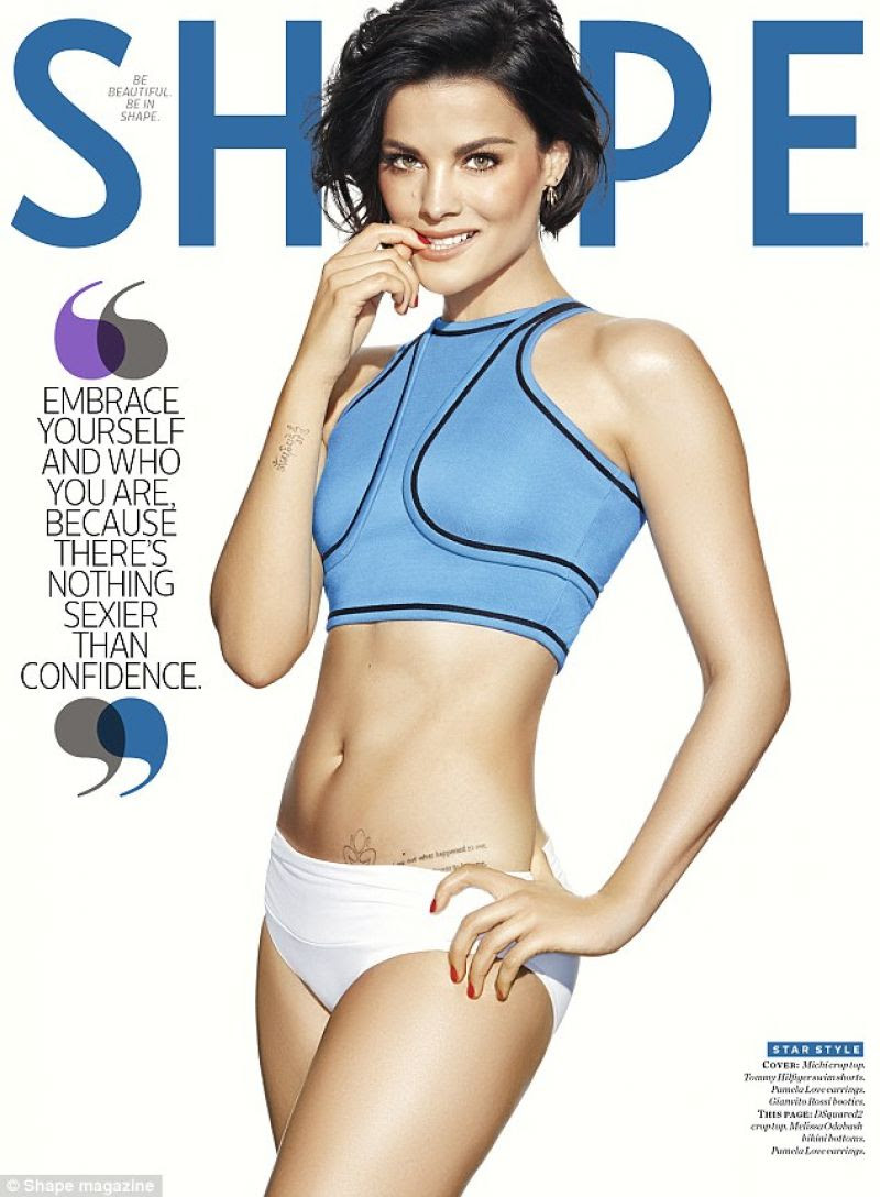 JAIMIE ALEXANDER in Shape Magazine, March 2016 Issue