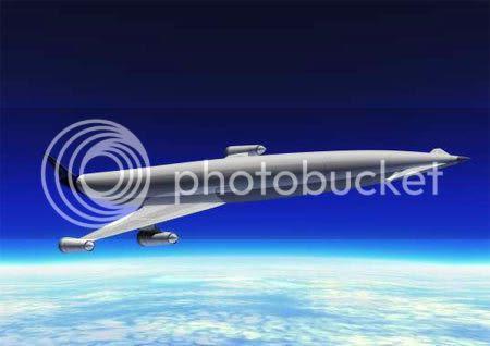 weird aircraft design LAPCAT