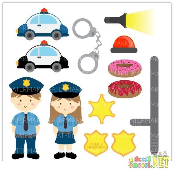 Polis Haftası Polis Boyama Trafik Polis Afişleri Komik Fipixde