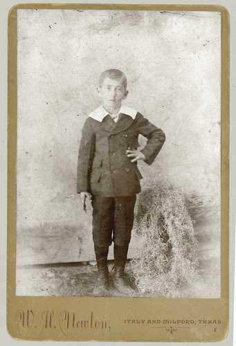 Cabinet Card portrait young man standing