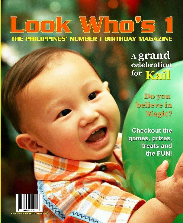 Kails 1st Birthday Album By Michelle R Moreno Blurb Books Canada