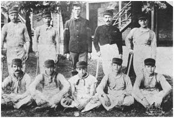 Jefferson Barracks baseball team