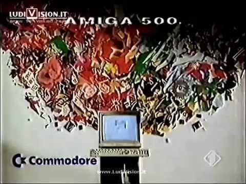 Commodore Amiga 500 - L'immaginazione lavora (1990)