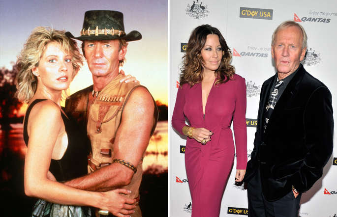 Paul Hogan's Crocodile Dundee romance appears to be over - his actress wife Linda Kozlowski has filed for divorce. The couple met on the set of the 1986 action film and married in 1990, after Australian star Hogan had divorced his wife; HOLLYWOOD, CA - JANUARY 14: Linda Kozlowski and Paul Hogan arrives for the 9th Annual G'Day USA Los Angeles Black Tie gala on January 14, 2012 in Hollywood, California.