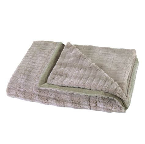 Wholesale Taupe Fur Blanket   Buy Wholesale Blankets