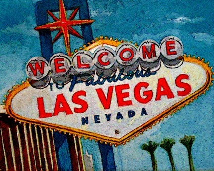Welcome to Fabulous Las Vegas print (state2)