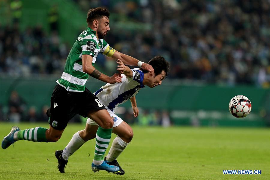 Portuguese Primeira Liga Fc Porto Vs Sporting Cp Xinhua English News Cn