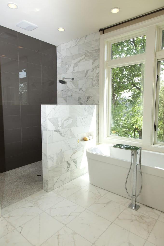 Walk In Shower without Door in Recent - HomesFeed