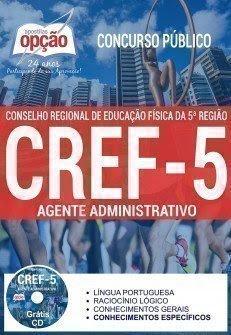 Apostila Concurso CREF5 CE Agente administrativo 2017.