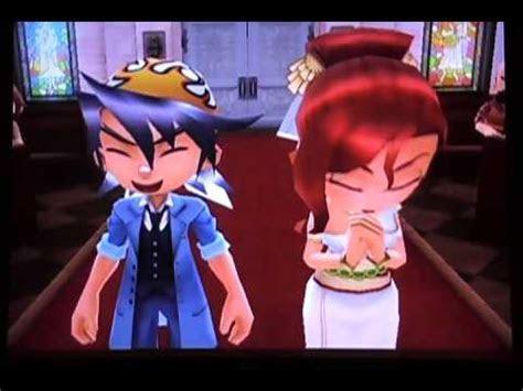 Harvest Moon: Animal Parade   Luke/Selena Rival Wedding