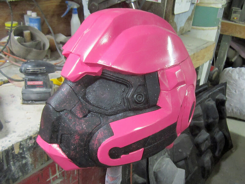 Helmet Texture Finalized