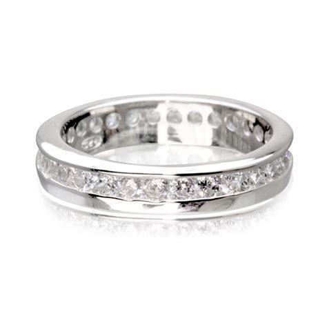 Lesley Real Sterling Silver With Platinum Finish