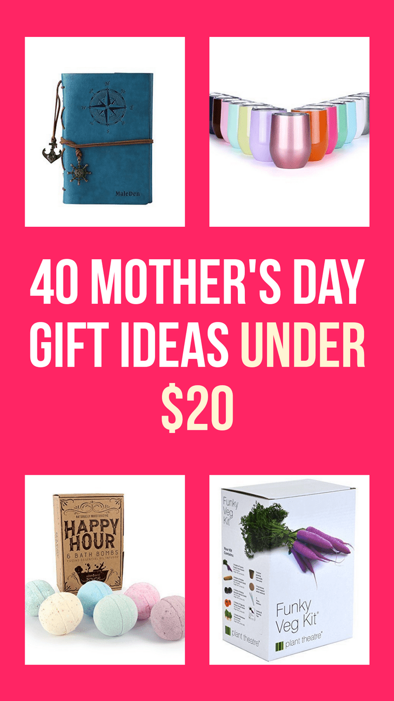 40 Fabulous Mother\u002639;s Day Gift Ideas Under $20
