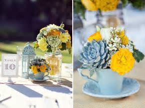 Little Sooti: Party Inspiration: Aqua Blue & Yellow Wedding