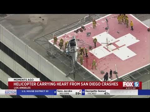 Médico tropeça e deixa coração de transplante cair no chão; veja vídeo.