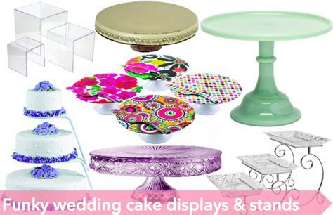Funky cake stands and dessert displays that'll make your