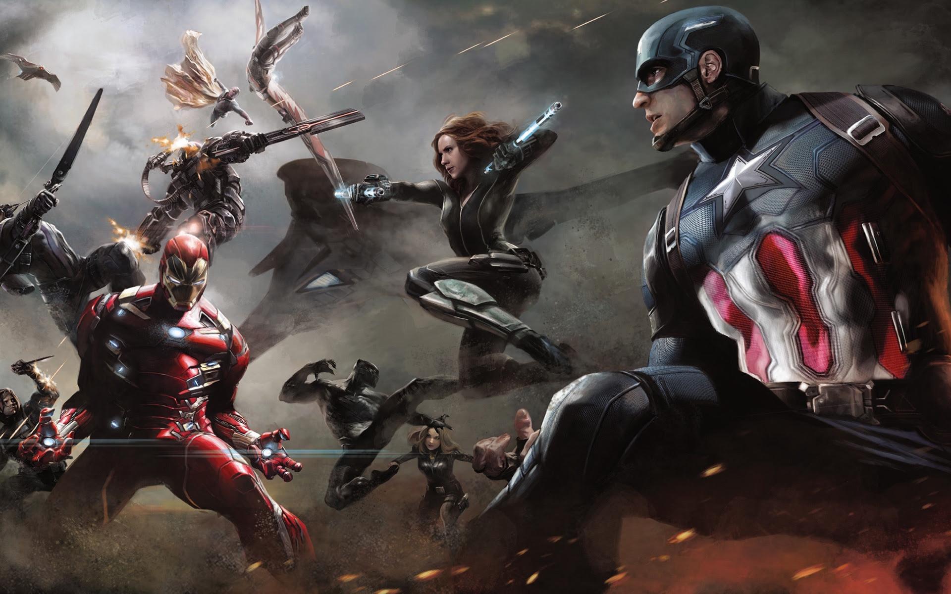 Captain America Civil War Artwork Wallpapers In Jpg Format For