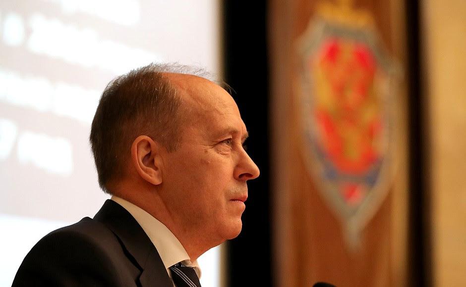 Direttore del Servizio federale di sicurezza Alexander Bortnikov.