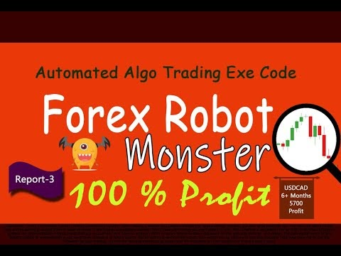 Forex Robot Monster USDCAD currency chart trading test report 3