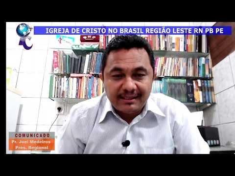 PROTOCOLO DE RETOMADA DAS ATIVIDADES DAS IGREJA NA REGIÃO LESTE RN PB PE