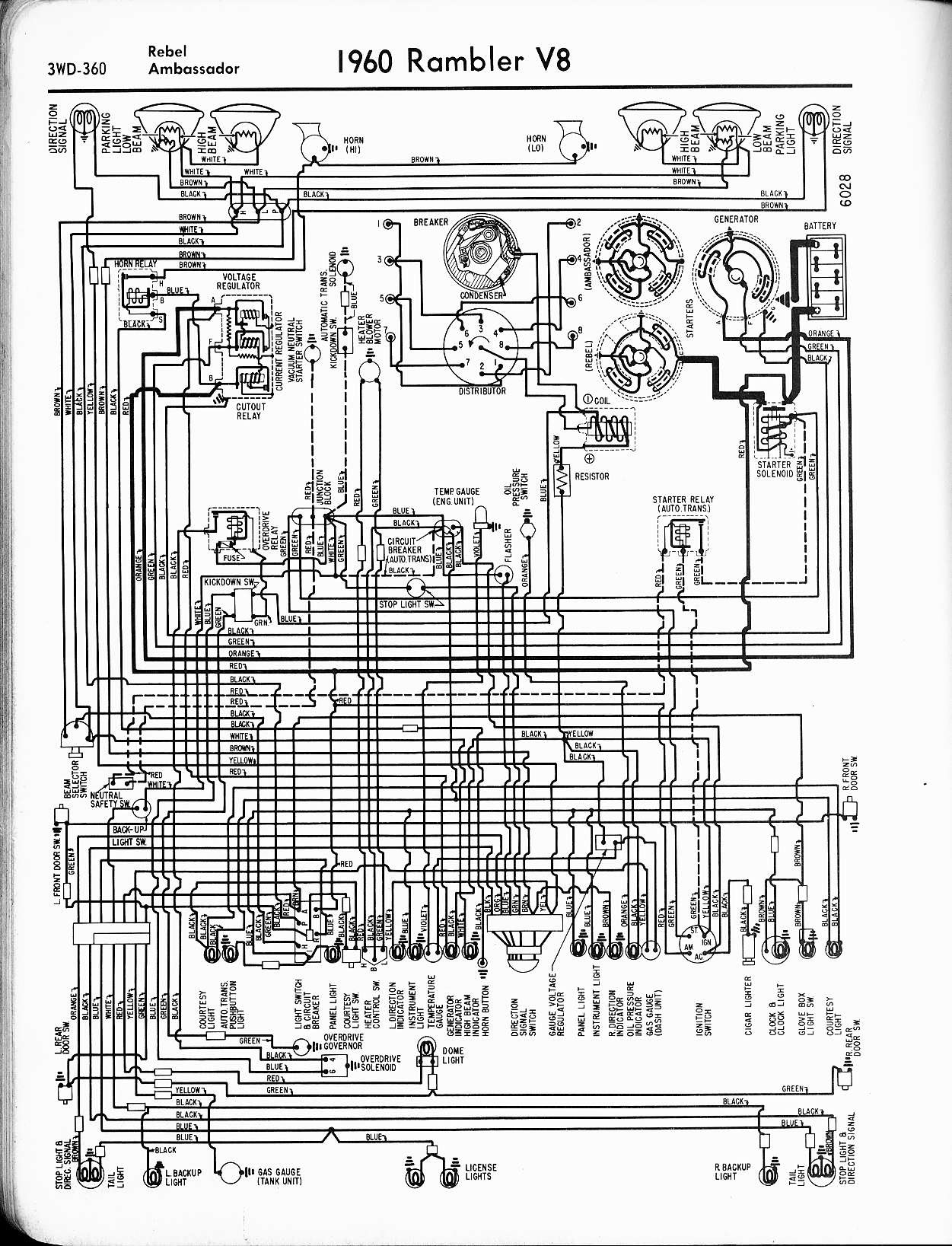 Amc Wiring Harnes Diagram