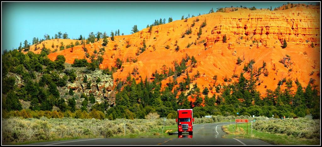Mirage on Hwy 12 (Utah)