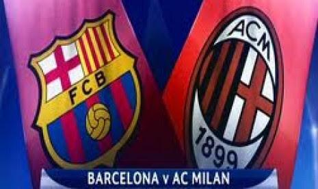 Barcelona Vs Milan, Tarung Raja Eropa