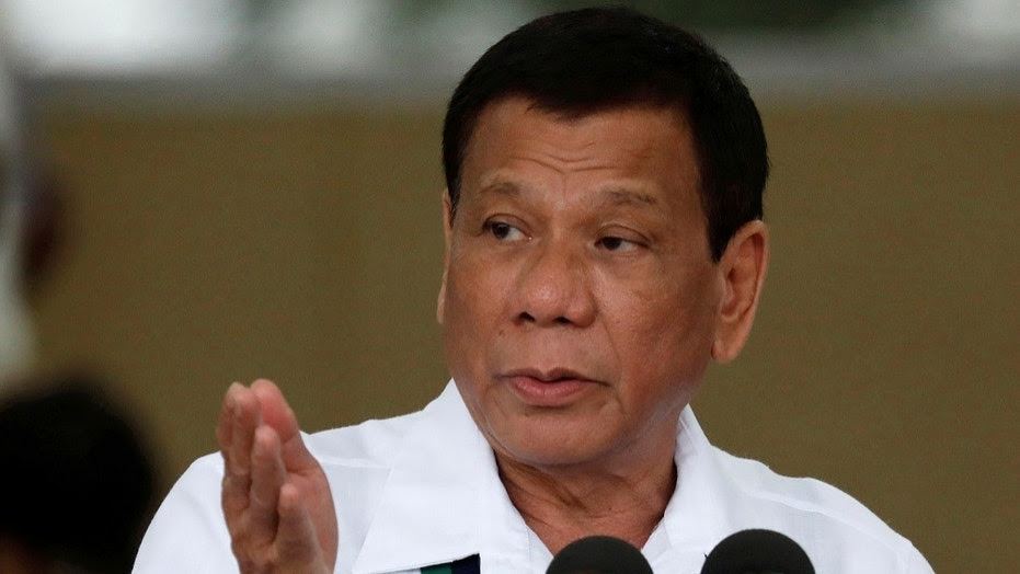 Philippines President Rodrigo Duterte apologized to God for vulgar remarks he made last month during a televised speech.
