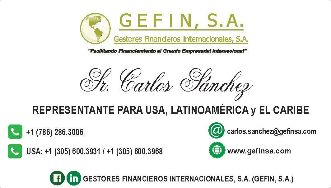 USA, LATINOAMÉRICA Y EL CARIBE: (CARLOS SÁNCHEZ)