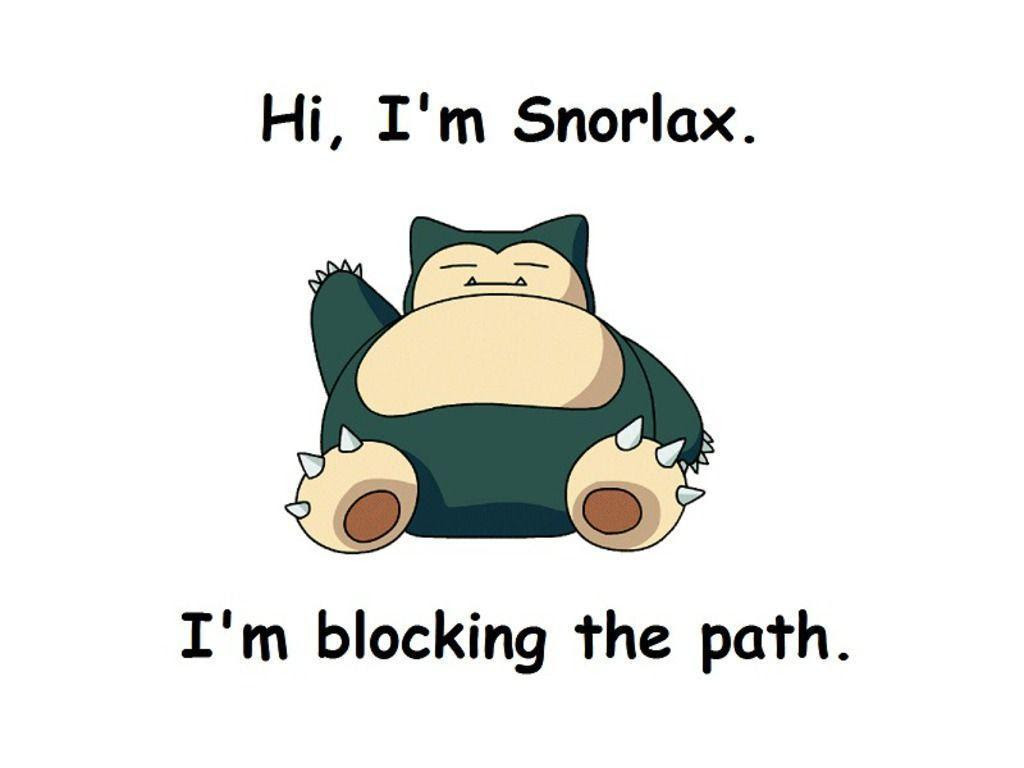 Snorlax Wallpapers - Wallpaper Cave