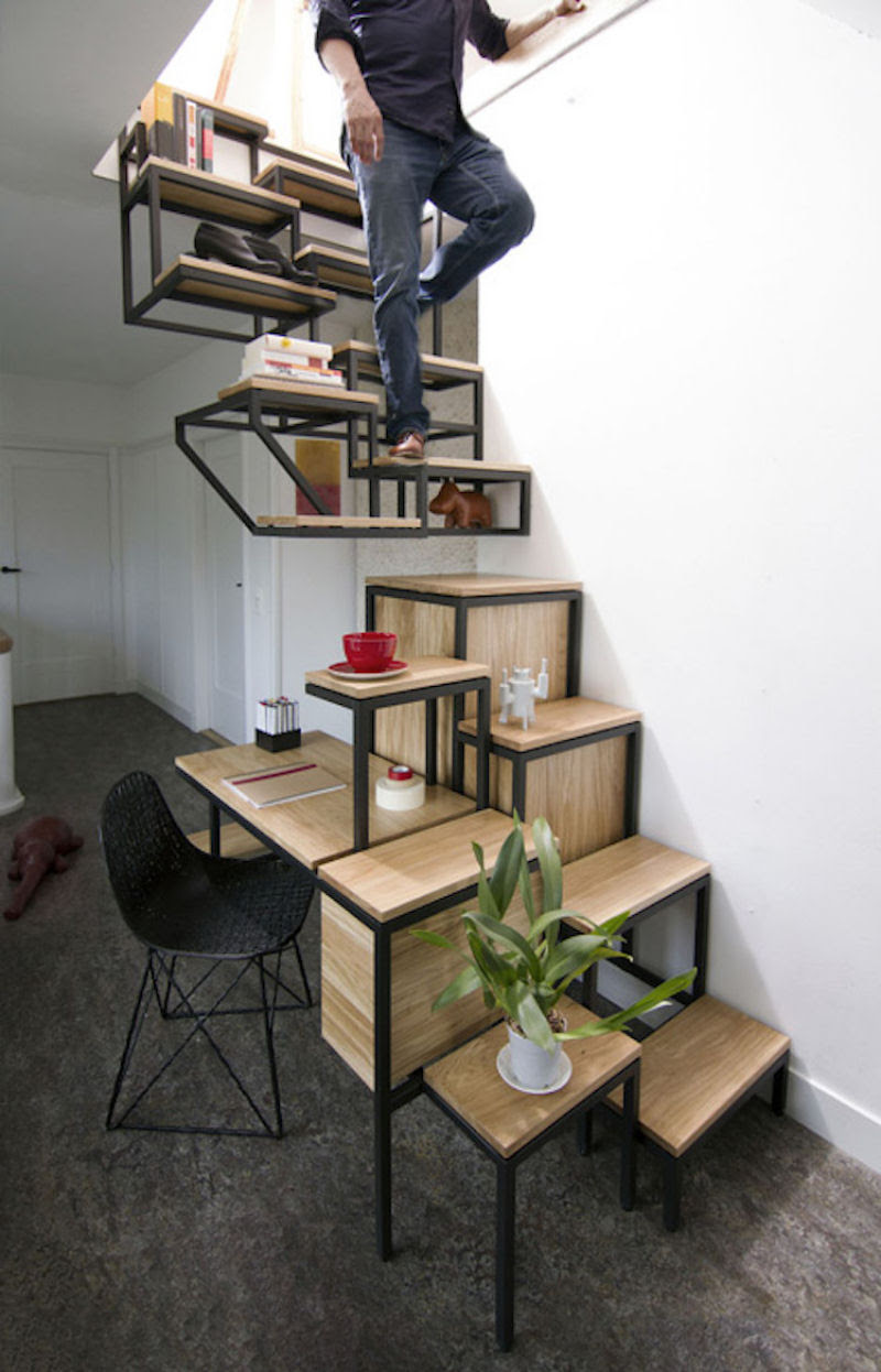 Escadas incrivelmente projetadas que estão um degrau acima das demais 04