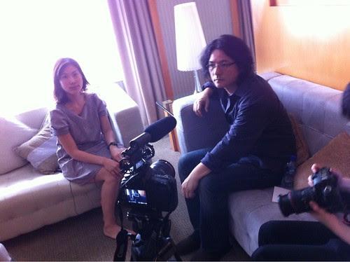 Shunji Iwai and Tan Chui Mui video conversation