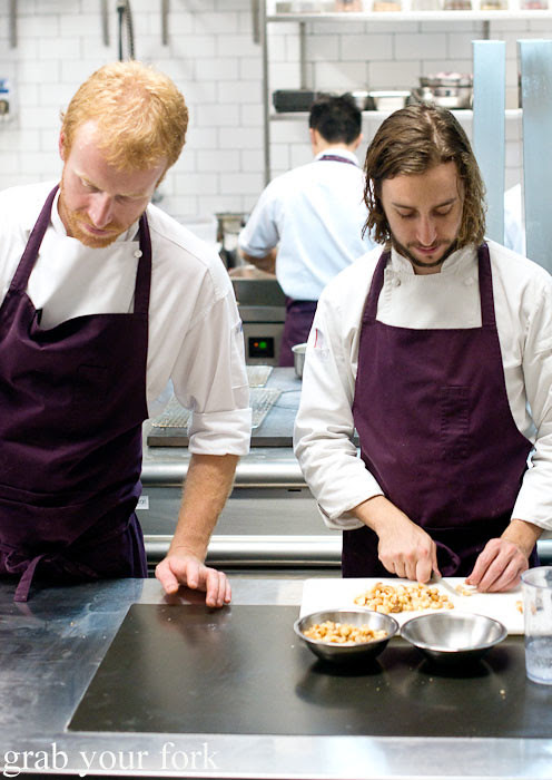 James Parry and Daniel Puskas at Sixpenny Stanmore