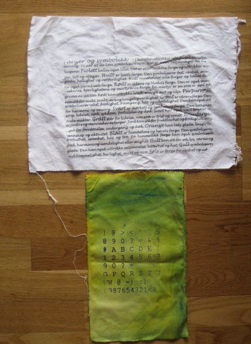 print + gluetransfer :: trykk + limoverføring