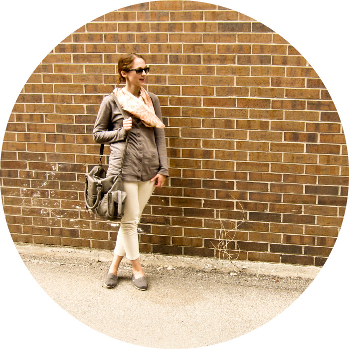 dashdotdotty, dash dot dotty, outfit blog, bicycle outfits, cream jeans, cardigans, scarves, tom's, casual weekend, style blog