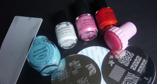 Konad Fauxnad Bundle Monster Beginners Stash how to start with stamping